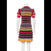 Gucci stripped print knit midi dress Angle3