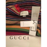 Gucci stripped print knit midi dress Angle5