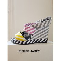 Pierre Hardy wedge multicolored sandals Angle2