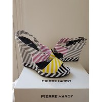 Pierre Hardy wedge multicolored sandals Angle5