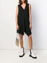 GUCCI SILK BELTED SHIFT DRESS Angle2