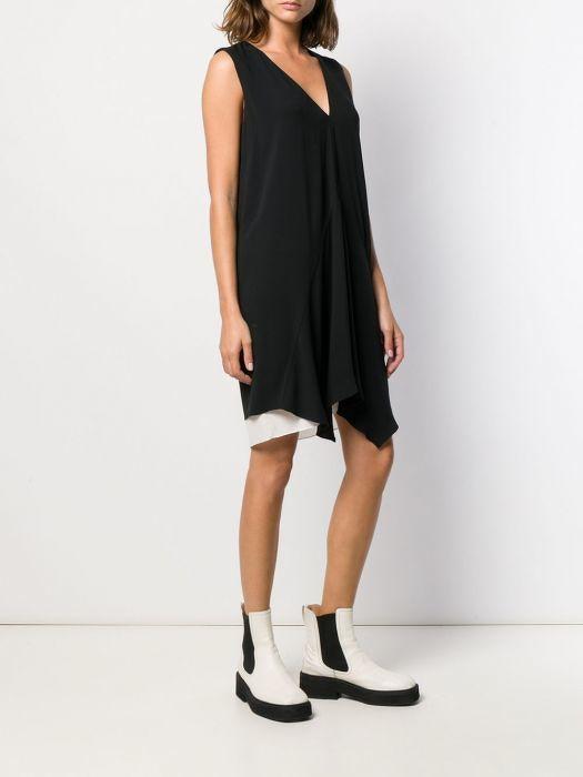 GUCCI SILK BELTED SHIFT DRESS