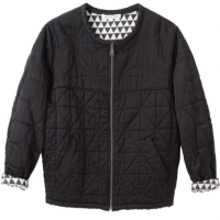 Isabel Marant reversible silk bomber jacket