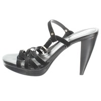 Tod's Leather High Heel Sandals.