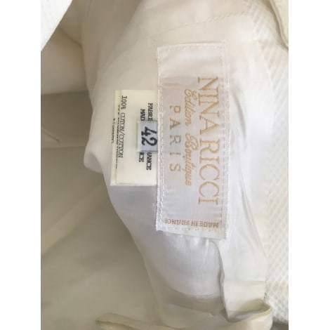 NINA RICCI White Cotton Top