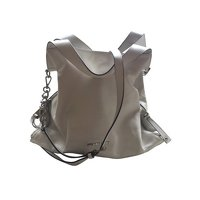 White Leather Shoulder Bag by Michael Kors