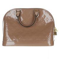 Louis Vuitton Leather Alma Hand Bag
