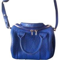 ALEXANDER WANG Rock Style Leather Shoulder Bag
