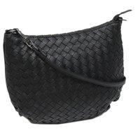 Interwined Leather Shoulder Bag Bottega Veneta