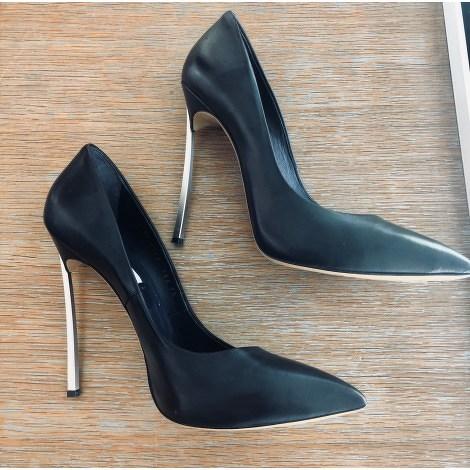 Casadei Blue Glamour Heeled Sandals