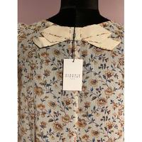 Claudie Pierlot Top With Bouffant Sleeves and Knot Angle5