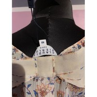 Claudie Pierlot Top With Bouffant Sleeves and Knot Angle6