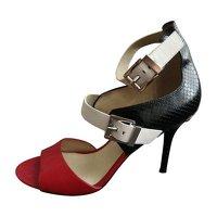 Michael Kors Multicolor Heeled Sandals Angle2