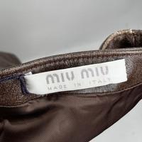 Miu Miu Maxi Dress With Bandeau Neck Angle4