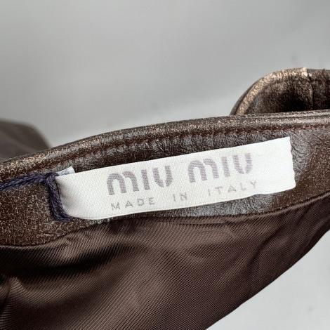 Miu Miu Maxi Dress With Bandeau Neck