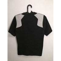Balenciaga Black Cotton Geometric T-shirt Angle3