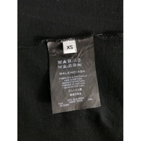 Balenciaga Black Cotton Geometric T-shirt Angle5