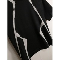 Balenciaga Black Cotton Geometric T-shirt Angle6