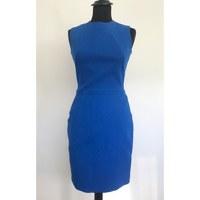 Victoria Beckham Wool Fitted Midi Dress Angle2