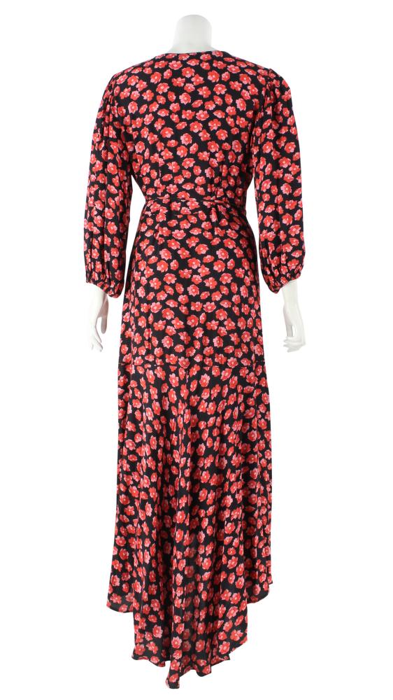 Ganni Viscose Floral Lindale Causal Dress