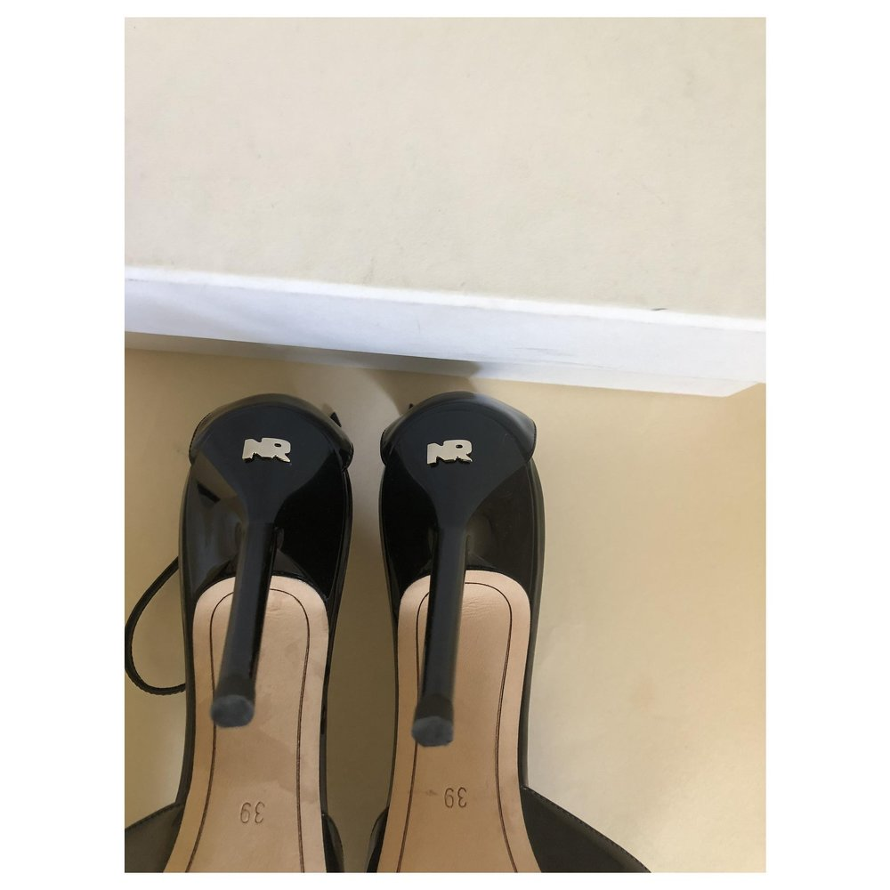 Strappy Stilettos by Nina Ricci