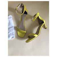 Stuart Weitzman Yellow Sandals