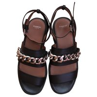Black Chain Sandal by Givenchy