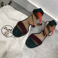 Hermès Strappy Heeled Sandals Angle7