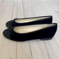 Chanel Black Ballet Flats