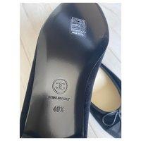 Chanel Black Ballet Flats Angle6