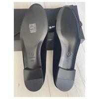 Chanel Black Ballet Flats Angle7