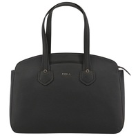 Furla Leather Hand Bag In Minimalist Chic Style