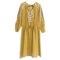Antik Batik, cotton embroidered dress