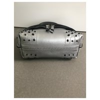 Silver wave bag of Tods Angle3