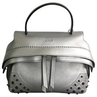 Silver wave bag of Tods Angle1