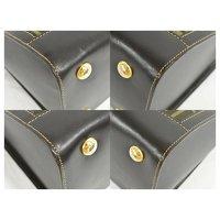 Canvas Fendi Handbag Angle7