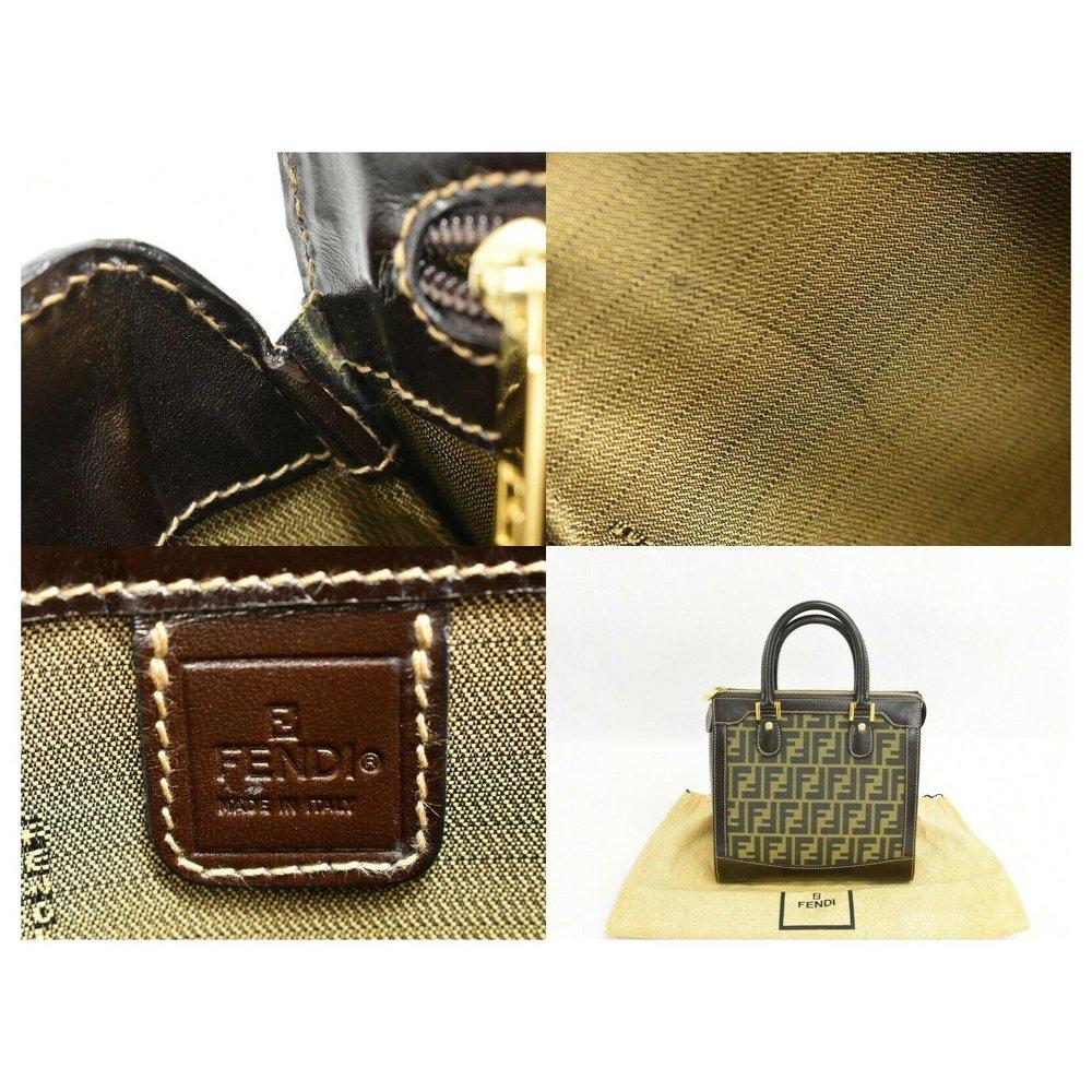 Canvas Fendi Handbag