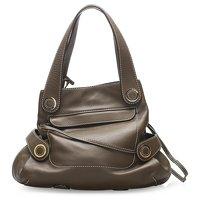 Anagram Leather Tote Bag by Loewe Angle3