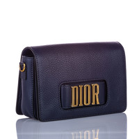 Dior Leather Shoulder bag With Magnetic Closure Angle2