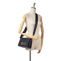 Dior Leather Shoulder bag With Magnetic Closure Angle6