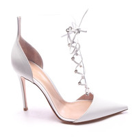 Gianvito Rossi Ankle Boots With Lace Angle2