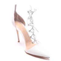 Gianvito Rossi Ankle Boots With Lace Angle3