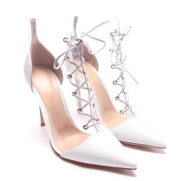 Gianvito Rossi Ankle Boots With Lace Angle4