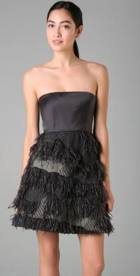 Alice+Olivia Priscilla Fringe dress