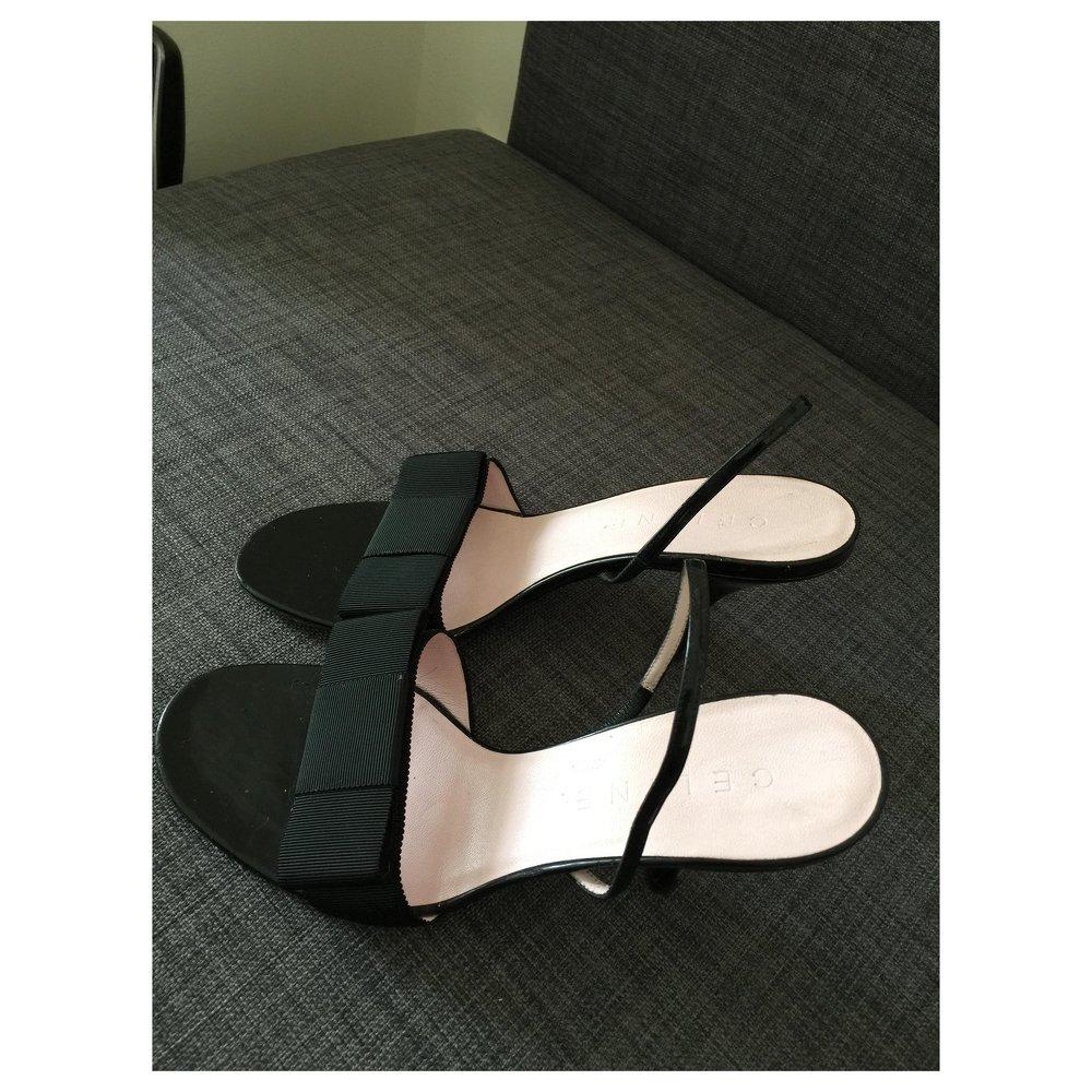 Céline, Black Sandals
