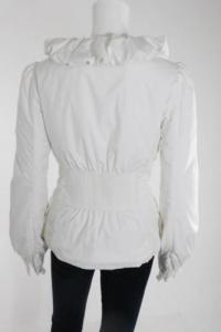 Elie Tahari Ruffle neckline jacket Angle3