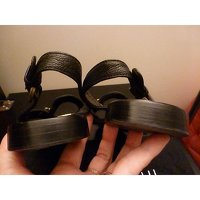 Black Sandals by Barbara Bui. Angle8