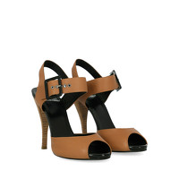 Pierre Hardy Leather Sandals With Tapered Heel Angle2