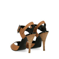 Pierre Hardy Leather Sandals With Tapered Heel Angle3