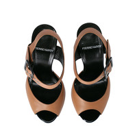 Pierre Hardy Leather Sandals With Tapered Heel Angle4